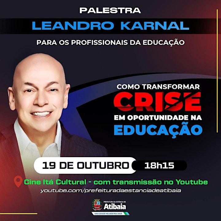 Imagem do evento Jornada Literária: Leandro Karnal