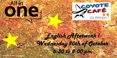 October English Afterwork tickets