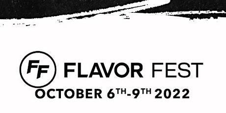 Flavor Fest 2022 tickets