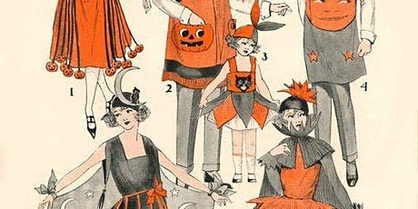 Paper bag pumpkins with Zoe Curtis tickets