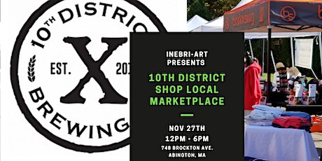 10th District Shop Local Marketplace tickets