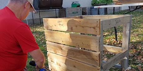 Compost Bin Building Workshop - Compost and Food Waste Webinar Series tickets
