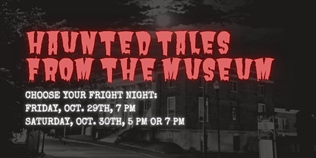 Haunted Tales at the Robertson County History Museum tickets