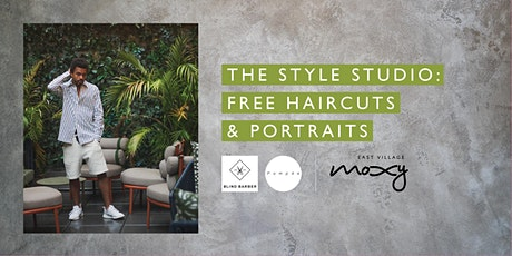 The Style Studio: Free Haircuts & Portraits tickets