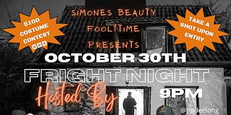 FRIGHT NIGHT - HALLOWEEN PARTY tickets