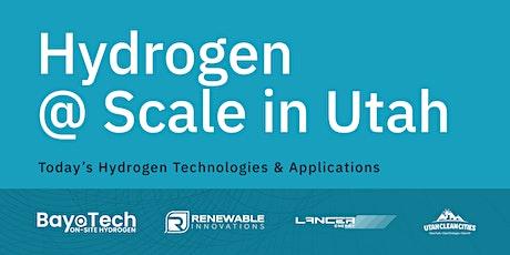Hydrogen @ Scale in Utah tickets