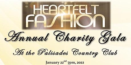 Heartfelt Fashion Annual Charity Gala tickets