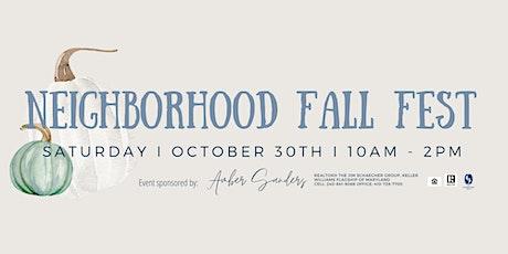 Winters Lane Neighborhood Fall Fest tickets