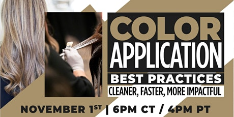 Color Application Best Practices: Cleaner, Faster, More Impactful tickets
