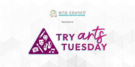 Try Arts Tuesday- Character Creation with Greg Williams tickets