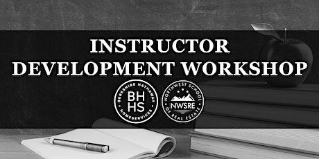 Instructor Development Workshop tickets