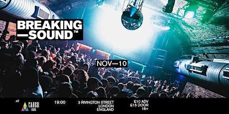 """Breaking Sound London feat. John """"JW"""" Wesley, Keller, Ana De Llor + more tickets"""