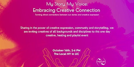 My Story, My Voice: Embracing Creative Connection tickets