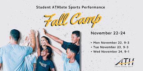 ATH-Allen Fall Break Sports Performance Camp tickets