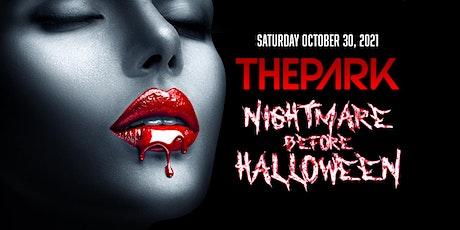 Nightmare before Halloween tickets