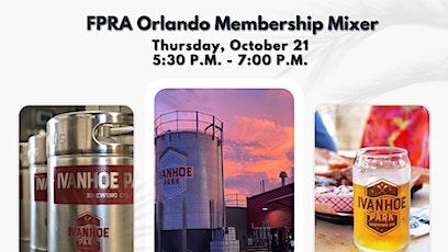 FPRA Orlando Membership Mixer tickets