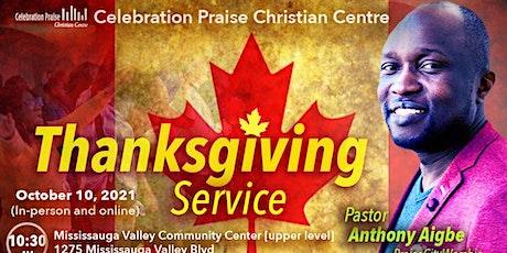 Celebration Praise Christian Center  - Church Service. tickets
