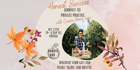 Journey to Private Practice w/CEO of OrchardBlue Counseling,Cerene Prince tickets