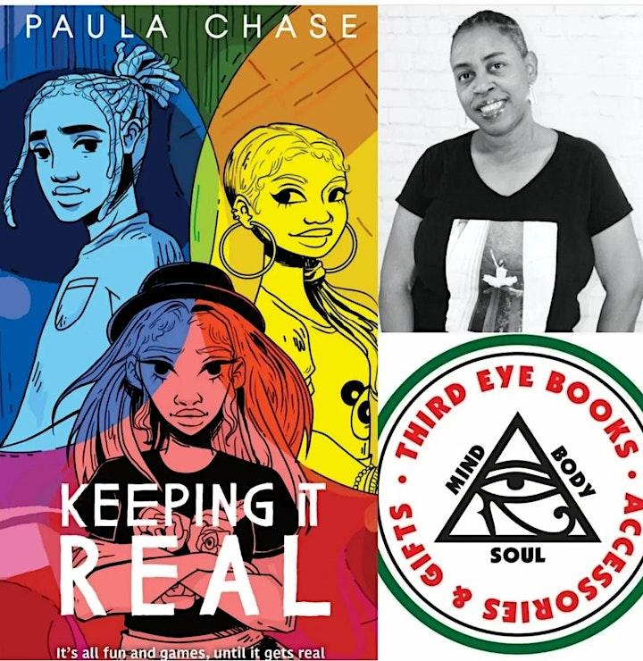 Third Eye Books Presents Author: Paula Chase - Keeping It Real image