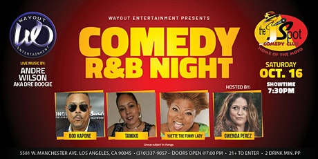 The J Spot Comedy Club Presents: WayOut Entertainment's  Comedy R & B Night tickets