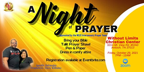 A Night of Prayer tickets