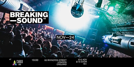 Breaking Sound London feat. CATALINA SKIES, Artfair, vaarwell + JAXN tickets
