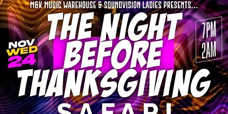 The Night Before Thanksgiving tickets