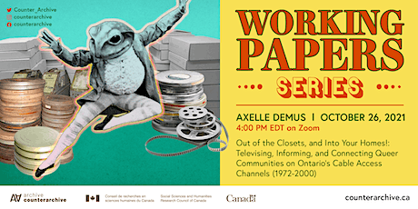 Working Paper Series: Axelle Demus   Out of the Closets, & Into Your Homes! tickets
