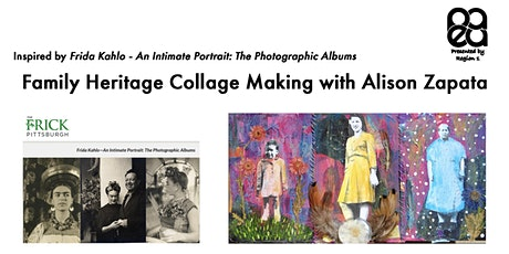 Family Heritage Collage Making with Alison Zapata tickets