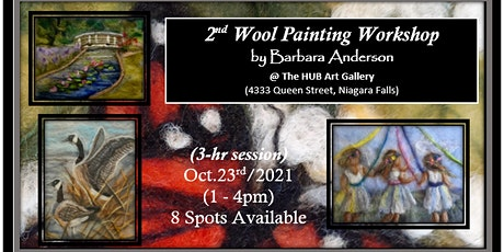 2nd Wool Painting Workshop with Barbara Anderson tickets