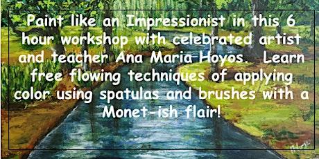 Paint Like an Impressionist! tickets