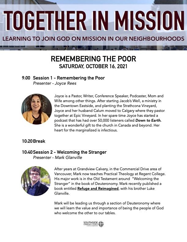 Together in Mission: Remembering the Poor image