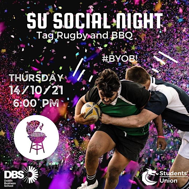 SU Social: Tag Rugby Night image