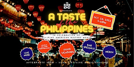 A Taste of The Philippines II tickets