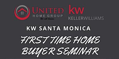 KW Santa Monica First Time Homebuyer Seminar tickets