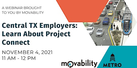 Project Connect and Central TX Employers Webinar tickets