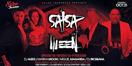 Salsa Thursdays presents SALSAWEEN at Rain Bar & Lounge Thursday October 28 tickets
