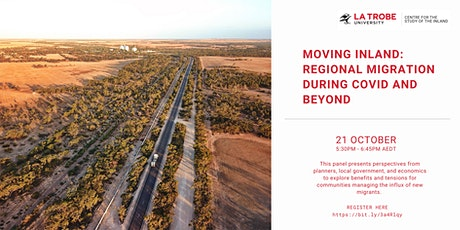 Moving Inland : Regional Migration During COVID and Beyond tickets