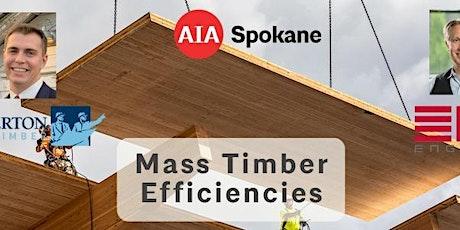 Mass Timber Efficiencies tickets