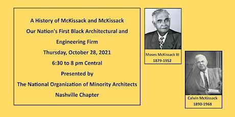 McKissack & McKissack: Our Nation's First Black Architecture Firm tickets