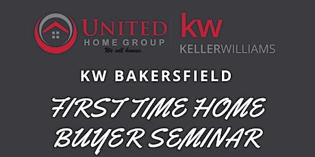 KW Bakersfield First Time Homebuyer Seminar tickets