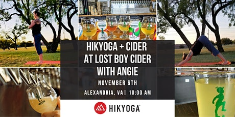 Hikyoga + Cider at Lost Boy Cider with Angie tickets