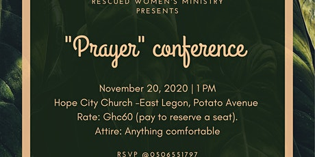 The 'Prayer' Conference tickets
