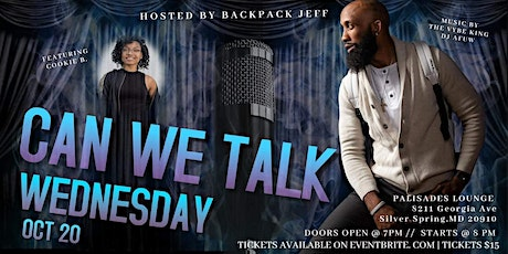 Can We Talk, Wednesday (Open Mic) tickets
