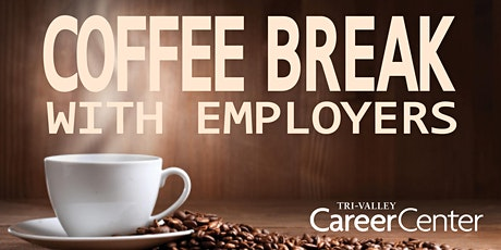 """In-Person """"Coffee Break"""" Hiring Event tickets"""
