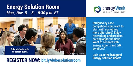 Energy Solution Room tickets