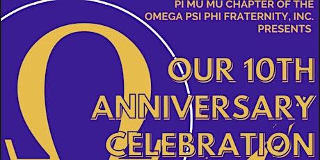 Pi Mu Mu 10 Year Anniversary Celebration tickets