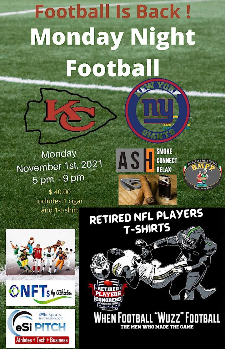 November Monday Night Football  Cigars, Art and NFTs image
