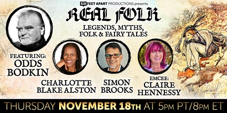 REAL FOLK - Legends, Myths, Folk & Fairy Tales tickets