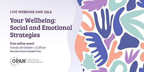 Your Wellbeing: Social and Emotional Strategies tickets